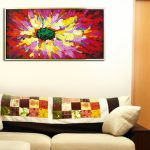 Sofa Paintings Saatchi Art Large Contemporary Abstract Tree Landscape