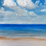 Soft Sea Waves Beach Paintings Painting Nimanthi