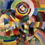 Sonia Delaunay Electric Prisms Art
