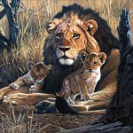 South African Wildlife Art Johan Hoekstra