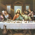 Special Offer Christian Jesus Art Last Supper Canvas Print Oil Painting Top