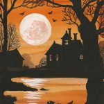 Spooky Vintage Halloween Postcards Happy Beautiful