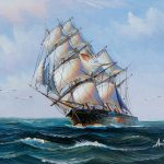 Square Rigged Sailing Ship