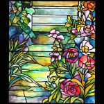 Stained Glass Tiffany Robert Mellon House Painting Donna