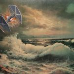 Star Wars Characters Thrift Store Paintings