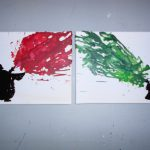 Star Wars Inspired Melted Crayon Art