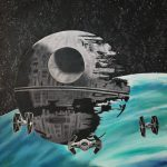 Star Wars Painting Oil Paintings