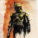 Star Wars Watercolor Paintings Terry Cook