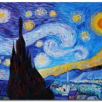 Starry Night Van Gogh Paintings Famous Art