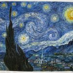 Starry Night Van Gogh Reproduction Hand Painted