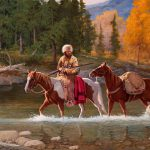 Steve Devenyns Fine Western Art Original Ranching Wildlife Cowboy Paintings