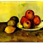 Still Life Apples Cezanne Paintings Famous Art