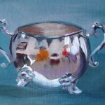 Still Life Artists International Sugar Bowl Contemporary Oil Painting