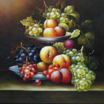 Still Life Fruit Oil