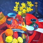 Still Life Scottish Contemporary Artist Frank Colclough Edinburgh