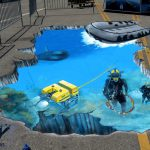 Street Painting Los Angeles Partyworks Inc Equipment Rental Interactive Games