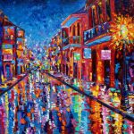 Stunning Bourbon Street Artwork Sale Fine Art