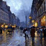Stunning Parisian Paintings Edouard Cortes Art