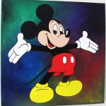 Style Mickey Mouse Childrens Art Fiona