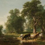 Summer Afternoon Painting Asher Brown