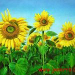 Sunflower Oil Painting Canvas China Manufacturer