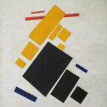 Suprematist Composition Airplane Flying Kazimir Malevich