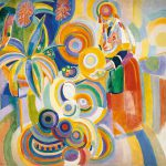 Tall Portuguese Woman Robert Delaunay