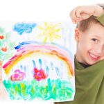 Tempera Paint Finger Kaplan Early Learning
