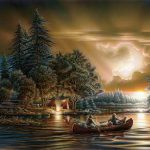 Terry Avon Redlin Landscape Wildlife Painter Tutt Art Pittura Scultura Poesia