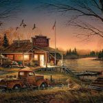 Terry Redlin Elite Open Edition Print Total Comfort Wild Wings New
