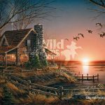 Terry Redlin Handsigned Numbered Limited Edition Legacy Canvas Comforts