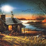 Terry Redlin Pure Contentment