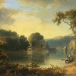 Thomas Doughty Ruins Landscape Painting Best Paintings