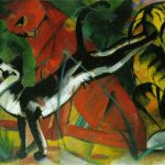Three Cats Franz Marc