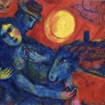 Time Lovers Russian Born Marc Chagall His Own
