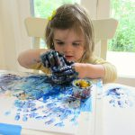 Tips Finger Painting Time Flash