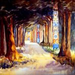 Totems Trees Emily Carr Paintings Eclectic Light