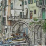 Travel Highlights Drawings Around Europe Malinda Prudhomme