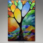 Tree Joy Textured Abstract Painting Sally