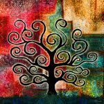 Tree Life Large Canvas Art