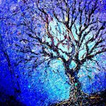 Tree Outside Studio Painting Artist