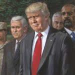 Trump Doing Powerful New Painting Make Tear