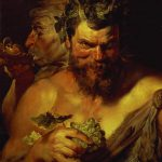 Two Satyrs Painting Peter Paul