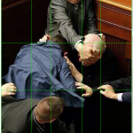 Ukrainian Politicians Fighting Parliament Look Like Renaissance