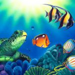Underwater Sea Painting Pixshark Galleries