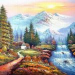 Value Bob Ross Paintings Michelle
