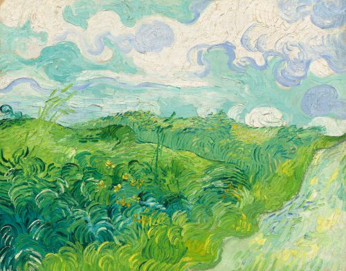 Van Gogh Green Wheat Fields Auvers Goes Washington New York