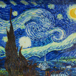 Van Gogh Starry Night Reproduction Painting