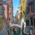 Venice Italy Painting Ylli