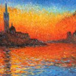 Venice Twilight Painting Claude Monet Paintings